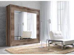 Zrcadlová šatní skříň s posuvnými dveřmi Gerardo