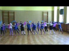 taniec z chustkami Boronów - YouTube