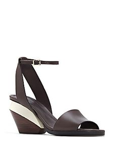Mercedes Castillo Leyna Leather Sandals