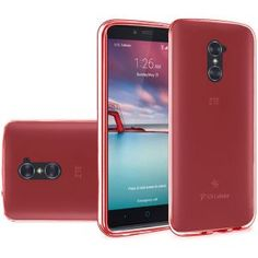 ZTE Zmax Pro Carry Z981 Silicone Case - TPU Red 1