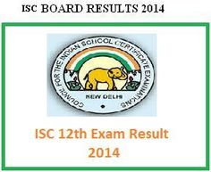 ISC Board 12th Result 2014  to be declared today   ie (May 17, 2014) AT 3PM. Just enter your exam hall ticket number in the below box to get ISC 12th Class 2014 results.  Check on http://post.jagran.com/icse-class-10th-results-on-21st-may-isc-class-12th-results-today-at-3pm-1400312088