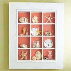 Mom will love to display sentimental collectibles in this decorative display case.