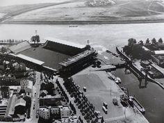 NANTES la ville d'après guerre: NANTES stade Marcel Saupin et quartier Malakoff