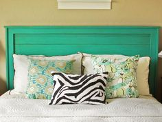 A wooden headboard adds style, luxury and comfort to any bedroom, but at a hefty price. Designer Ana White of Ana-White.com shares a simple way to create a bold, rustic headboard that any beginner woodworker can accomplish.