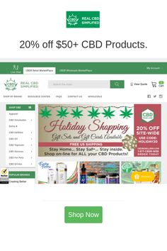Best deals and coupons for CBDResellers.com