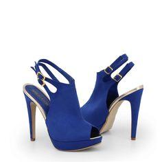 Blue Heels, Blue Sandals, Strap Sandals, Trend Fashion, Fashion Shoes, Radler, Designer High Heels, Shoes Heels Pumps, Clutch