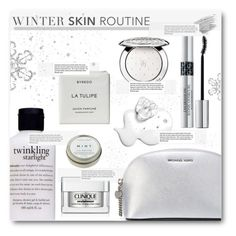 """Cold Weather Beauty Routine"" by befunky ❤ liked on Polyvore featuring ljepota, Guerlain, philosophy, MICHAEL Michael Kors, Christian Dior, Byredo, CB2, Bobbi Brown Cosmetics, Clinique i Garance Doré"