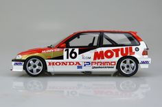1/24 HONDA CIVIC EF3 Gr.A '88 MOTUL|AOSHIMA|English