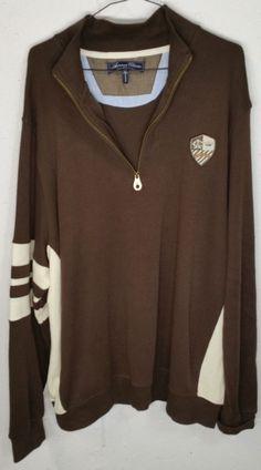 American Classics Russell Simmons Mens Long Sleeve Zip Pullover Sweatshirt XXL #AmericanClassics #14Zip