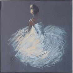 Tutu' Framed Painting Print on Canvas