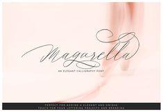 Fresh Products | Magarella Script by Ijemrockart on @creativemarket