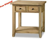 4443-896W Tuscan Retreat® 2 Drawer Hall/Console Table