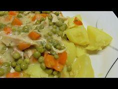 Kurczak z marchewka i groszkiem na gesto /Kasia ze slaska gotuje - YouTube