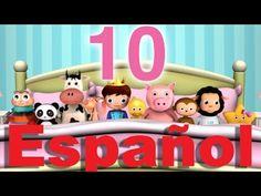 Top 10 Songs in Spanish For Young Children - Pura Vida Moms Spanish Activities, Preschool Activities, Five Little Monkeys, Baby Mickey, Fisher Price, Nursery Rhymes, Little Babies, Toy Chest, Videos