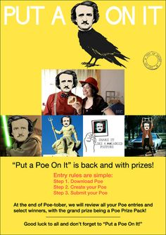 Put a Poe On It is back and with prizes! (Some of the entries have been pretty funny already)