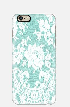 iPhone 6 Plus Slim Case Lace iPhone 5 case by cellcasebythatsnancy Iphone 5c Cases, Iphone 6, Designer Cell Phone Cases, Best Cell Phone, Gift Suggestions, 6 Case, White Peacock, Teal, Christmas 2014