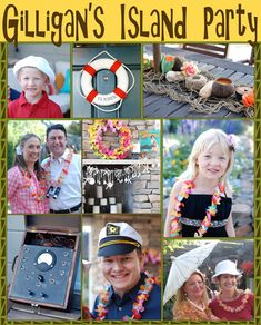 Gilligan's Island Party: Decoration, Food and Drink Ideas