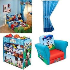 Mickey Mouse Clubhouse Window Panels Window Treatments
