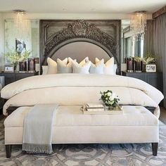 Awesome 65+ The Best Way to Beautify Your Bedroom Headboard https://decoredo.com/11280-65-the-best-way-to-beautify-your-bedroom-headboard/