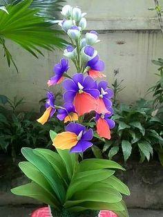 Blossom Garden - Paradise of Flowers! Unusual Flowers, Beautiful Flowers Garden, Unusual Plants, Rare Flowers, Exotic Plants, Amazing Flowers, Pretty Flowers, Orchid Flowers, Chiffon Flowers