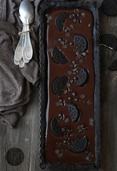 Torta al cioccolato e oreo