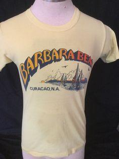 Vintage 1980's Tourist T-Shirt Surf Beach 50/50 Ski Medium by 413productions on Etsy