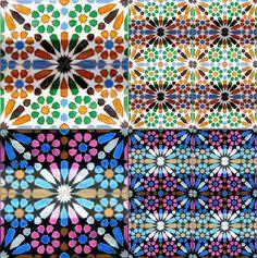 Arabic Style Spanish Tile