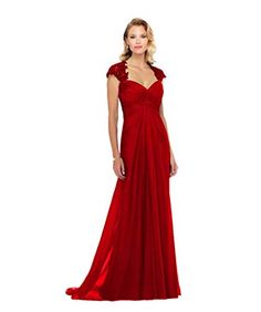 3f7d9885acf Women Ruched Mother of The Bride Dress Sweetheart Chiffon Pleated Long  Formal Evening Gowns. V