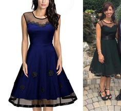 Promising review: 'I loved the dress and so did everyone else. Great price and classy looking.' --unbidden16Price: $32 (down from $54). Sizes: S-3X / Available in three colors.