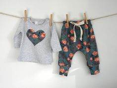T-shirt+and+Harem+pants+set