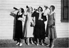New Orleans Snake Charmers: female Bootleggers - local author info