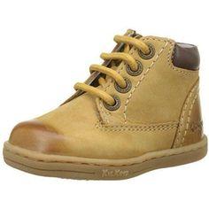 11487e3a15ab13 Chaussure bottes Kickers TACKLAND pour Garcon | couleur: Marron - Gold |  B-DQWB