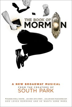 Go see The Book of Mormon and laugh yourself silly.