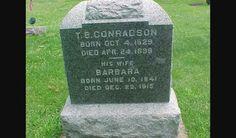 T.B. CONRADSON WISCONSIN