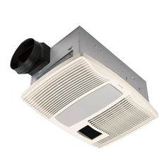 Add the Broan Ultra Silent 110 CFM Bath Fan with Light and Heater to your bathroom to help prevent mildew.
