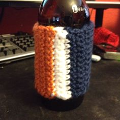Side two of my Bears colored koozie