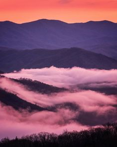 Beautiful mountain layers clouds and a sunset. Not much more to say  The Great Smoky Mountains National Park (7 of 59)  Shot with FUJIFILM X-T1 and XF50-140mm F2.8 lens  Photo by @jonathan_irish // Photographer and former Nat Geo staffer Jonathan Irish (@jonathan_irish) is on an epic road trip to visit and create incredible content in all of the 59 U.S. National Parks in 52 weeks during the centennial of the National Park Service. He'll be sharing his images and stories along the way here on…