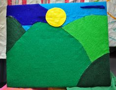 DIY felt board :: simple and fun road trip activities for kids!