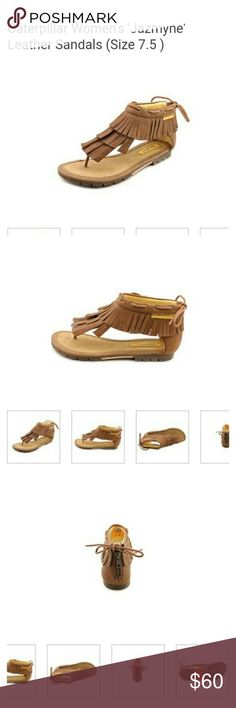 Caterpillar Jazmyne Fringe Sandals NWOT Caterpillar Shoes Sandals