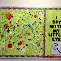 teaching 47 Awesome Bulletin Boards to Spice-Up Your Classroom – Bored Teachers Using Bamboo Blinds Interactive Bulletin Boards, Library Bulletin Boards, Preschool Bulletin Boards, Bulletin Board Display, Stem Bulletin Boards, Creative Bulletin Boards, Classroom Bulliten Board Ideas, Decorative Bulletin Boards, School Display Boards