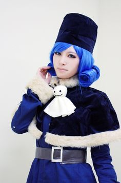 cosplay Juvia Loster from Fairy Tail