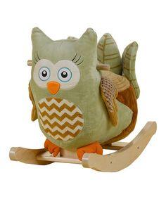 Another great find on #zulily! Owliver Owl Rocker by Rockabye #zulilyfinds