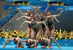 The Colorful World of Synchronized Swimming