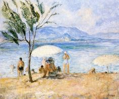 Bathers Henri Lebasque - Date unknown oil on canvas