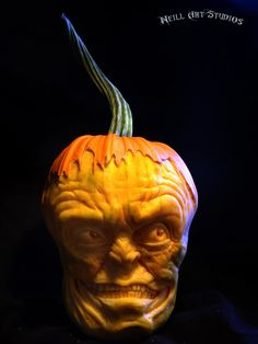 Amazing pumpkin carvings by Famous Pumpkin Carver Jon Neill