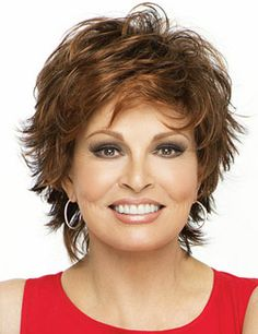 Entice Wig by Raquel Welch---this is a wig,  I wonder if I could get my hair cut like this.