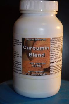 Curcumin Turmeric Blend #OrmusMinerals This Helps with Pain and Aches. Great Anti Inflammatory Get Your Bottle today Starting out at $25. #Curcumin #Turmeric