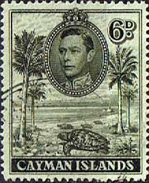 Cayman Islands 1938 SG 122a Hawksbill Turtels Fine Used SG 122a Scott 107 Other British Commonwealth Empire and Colonial stamps for sale Here