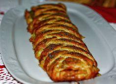 Treccia danese con Asparagi, Gorgonzola E Speck