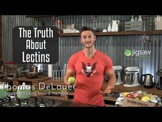 You've probably heard of Lectins. And why does everyone seem to hate them? Thomas DeLauer shares the Truth about Lectins and why they get. Gut Health, Health Tips, Health And Wellness, Thomas Delauer, Lectins, Leptin Resistance, Precision Nutrition, Different Diets, Plant Paradox